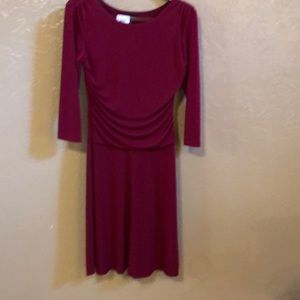 New Garnet color dress. Enfocus studio size 10